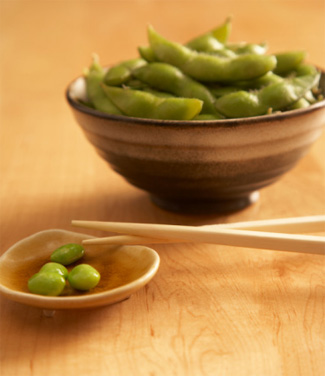 soybean reduces hot flushes