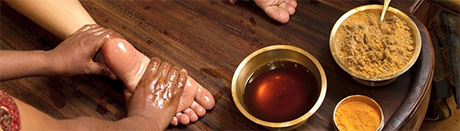 Padabhyanga / foot massage – the mother of all Ayurvedic therapies